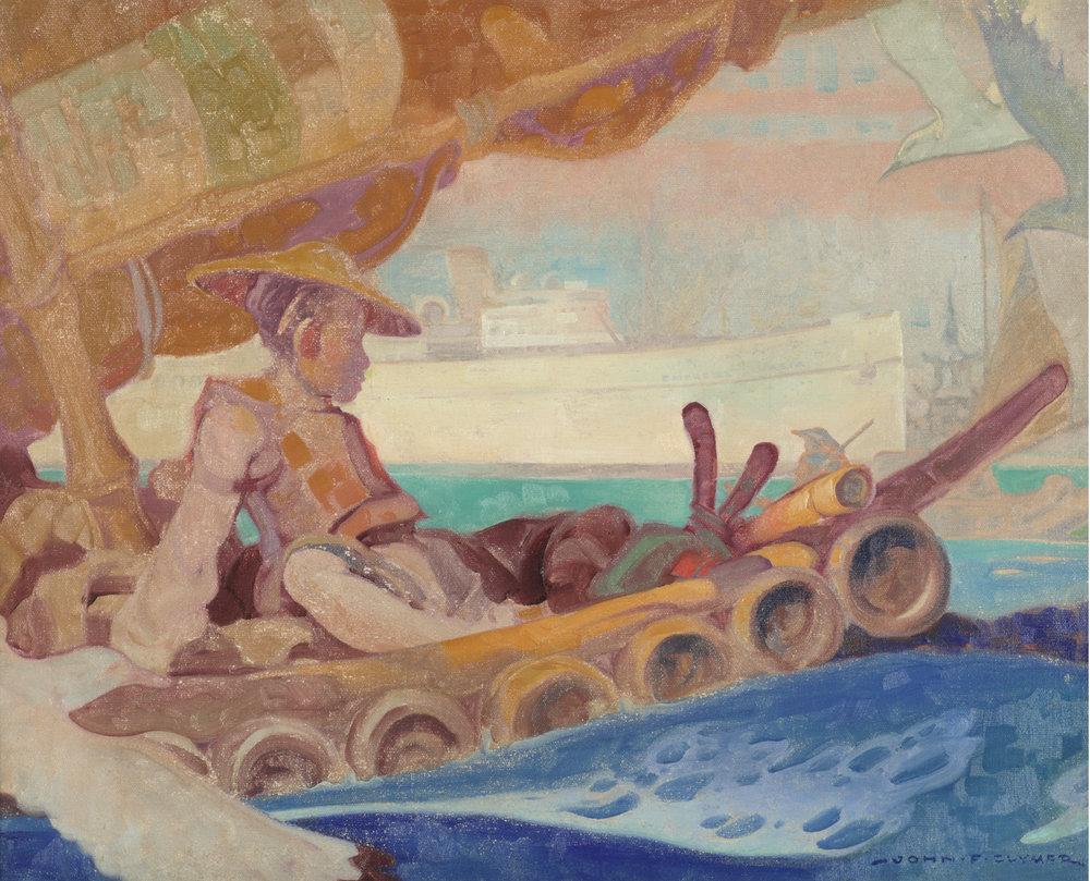 John Ford Clymer (American 1907-1989) 'Empress of Asia'