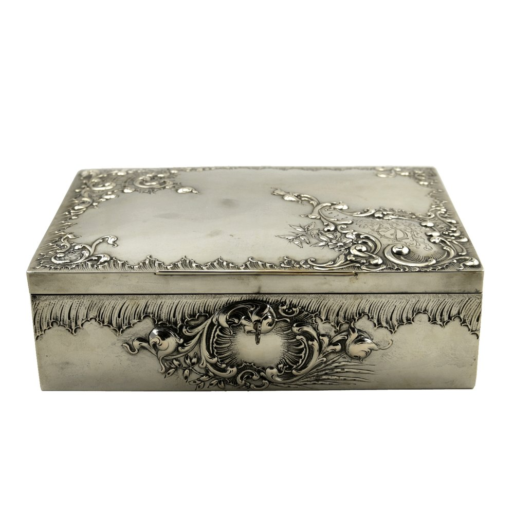 Austrian Silver Box, Circa 1920