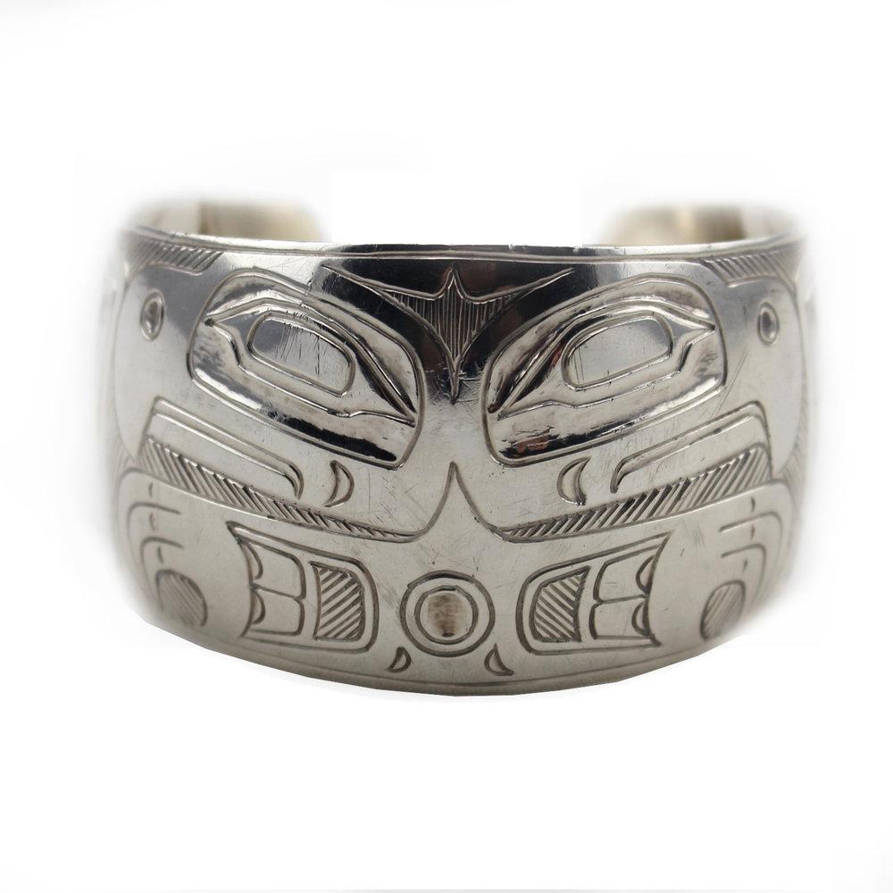 Corrine Hunt (Canadian born 1959) 'Eagle Bracelet'