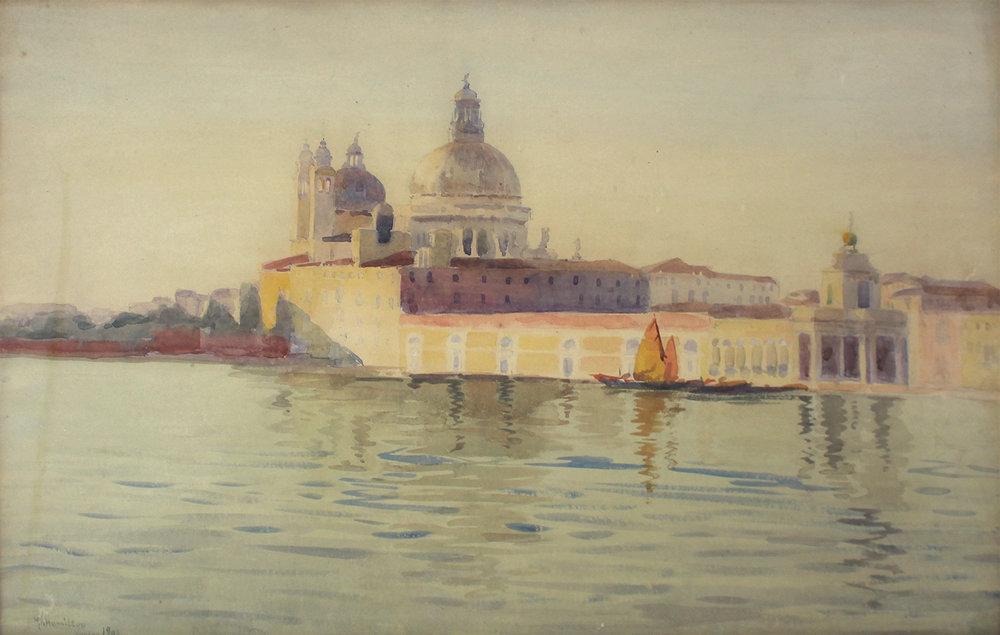 Mary Riter Hamilton (Canadian 1873-1954)Venice 1904