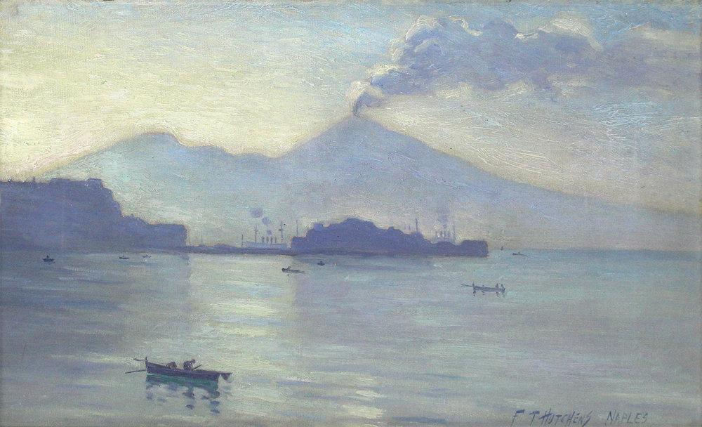 Frank Townsend Hutchens (American 1869-1937) Naples