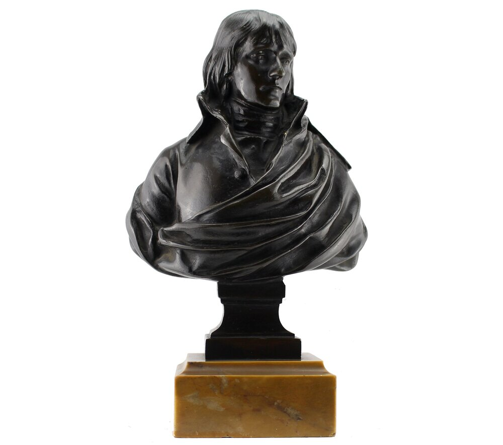 Charles Louis Corbet (French 1758-1808)  Bust of Napoleon,