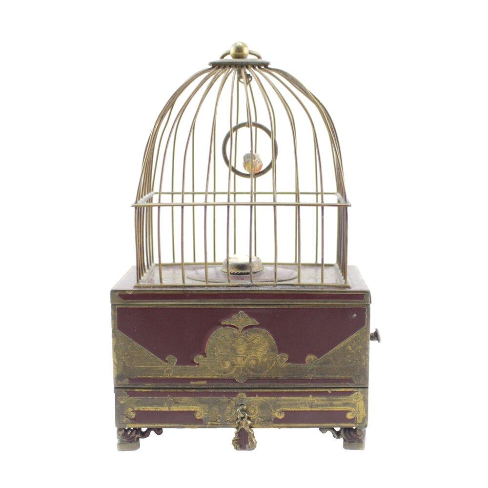 European Automaton Birdcage Early 20th Century