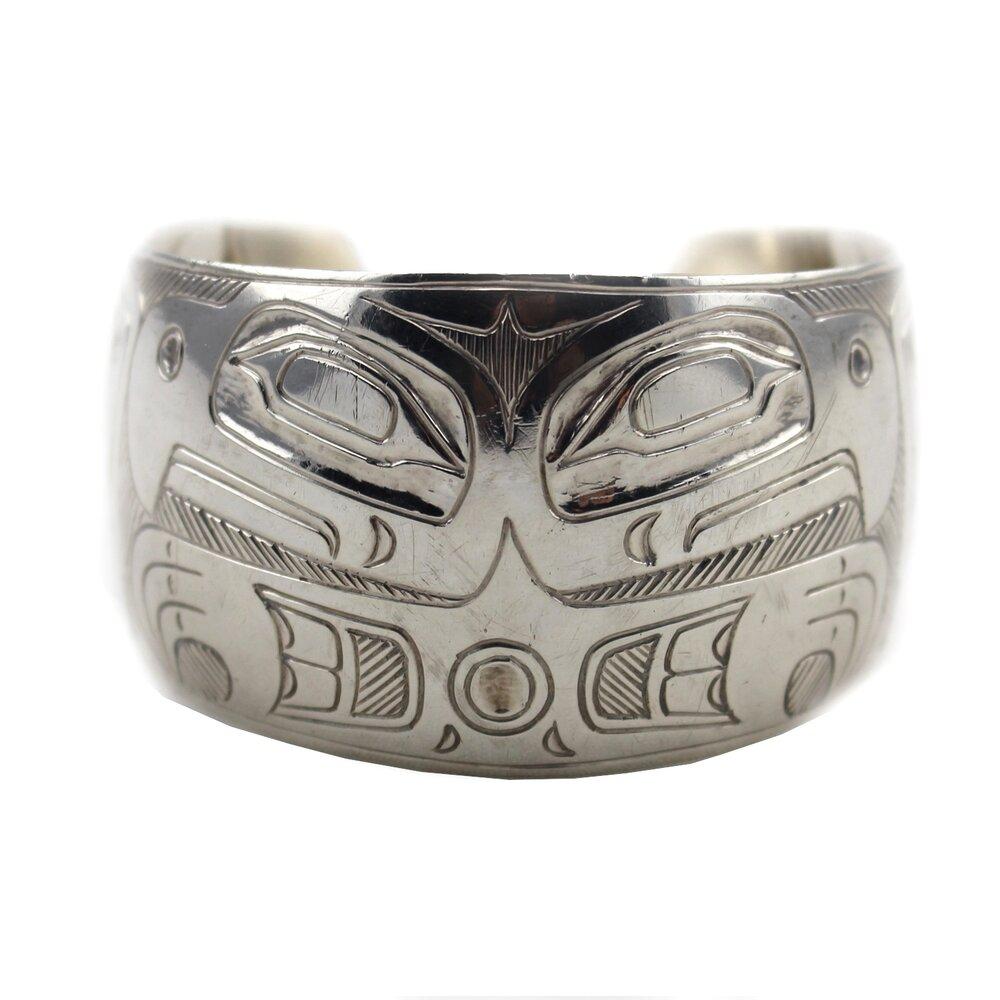 Russell Smith (Kwakwaka'wakw (Kwakiulth) (Canadian) 1950-2011) 'Eagle Bracelet'