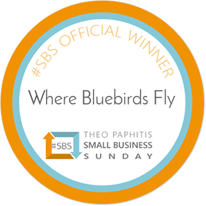 #sbs badge. Theo Paphitis Award Winning