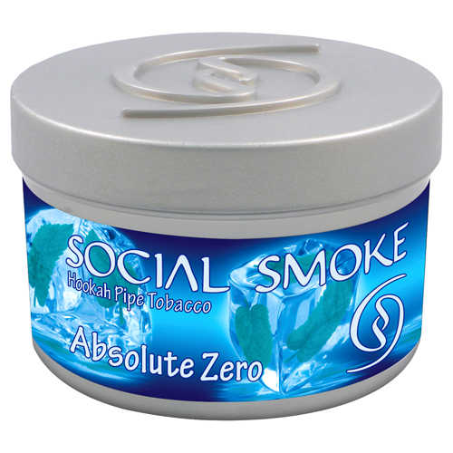 ABSOLUTE ZERO - This icy blend of mixed mints makes a chillingly cool smoke that refreshes your senses.