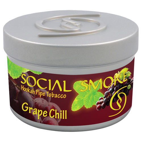 GRAPE CHILL - Ripe sweet grapes with delicate minty undertones.