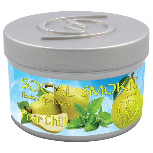 PEAR CHILL - Mild and sweet pear with a subtle blend of smooth refreshing mint.