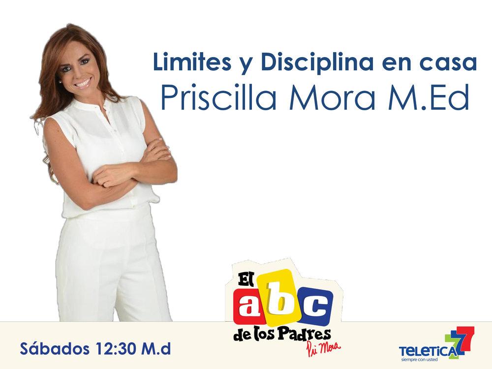 Limites y Disiplina - Priscilla Mora M.Ed