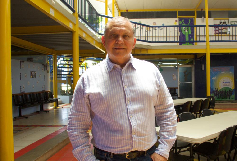 Rommel Porras, Director de Kamuk School.