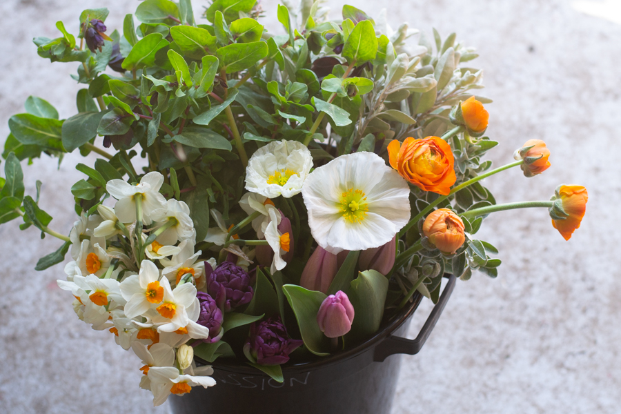 Mid April flower bucket.jpg