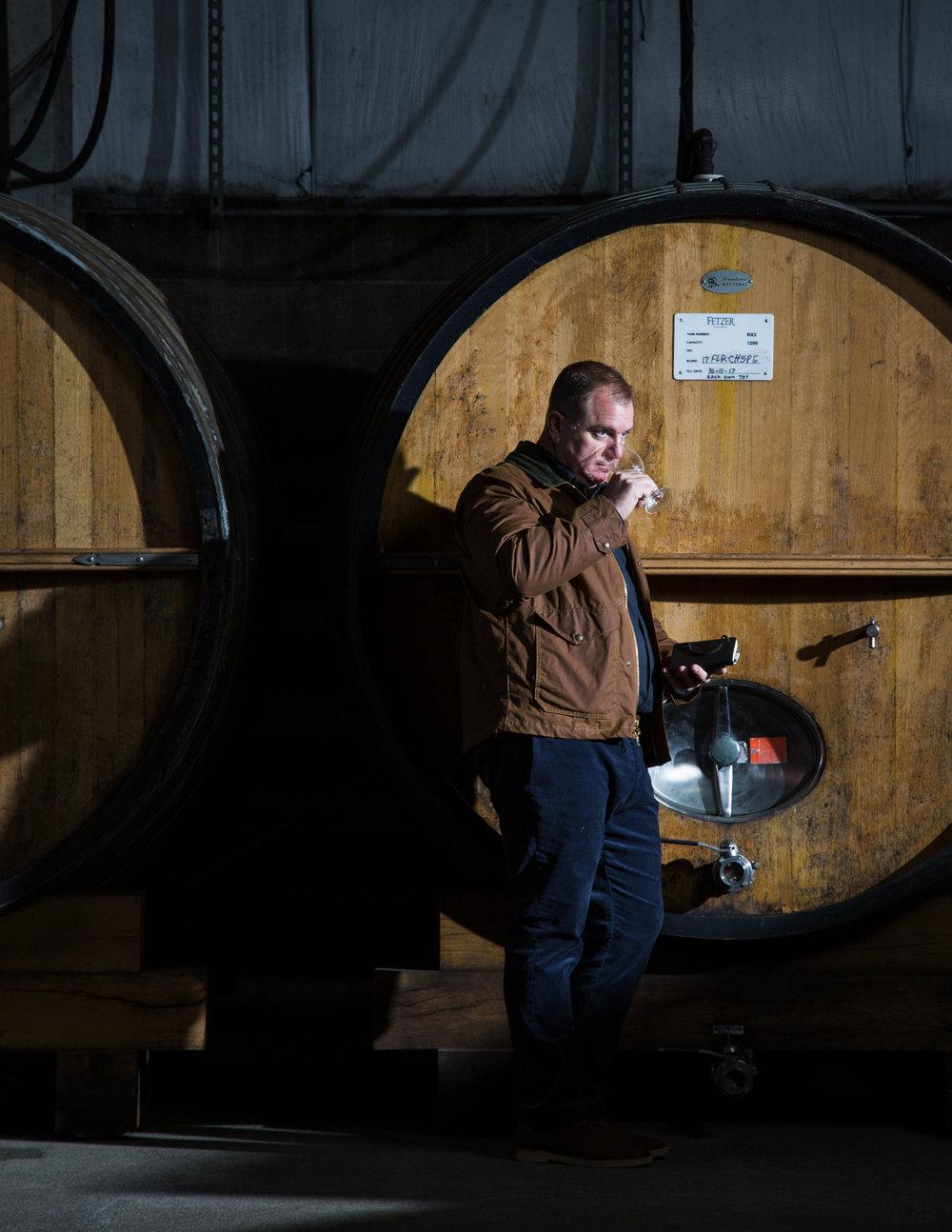Wine Lifestyle Portrait by Sonoma Bottle