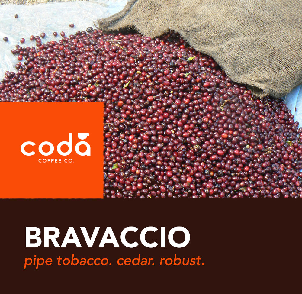 Coda Coffee Company Bravaccio Coffee Blend