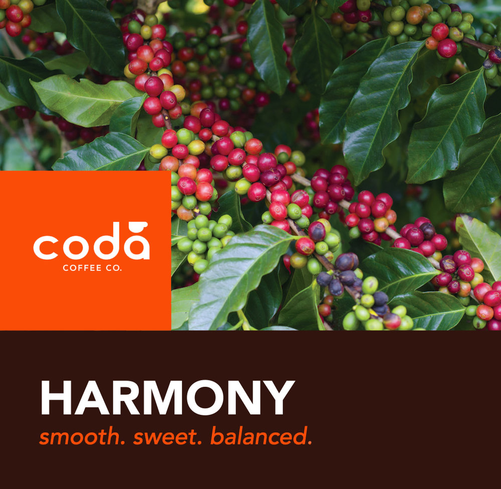 Coda Coffee Company Harmony Coffee Blend