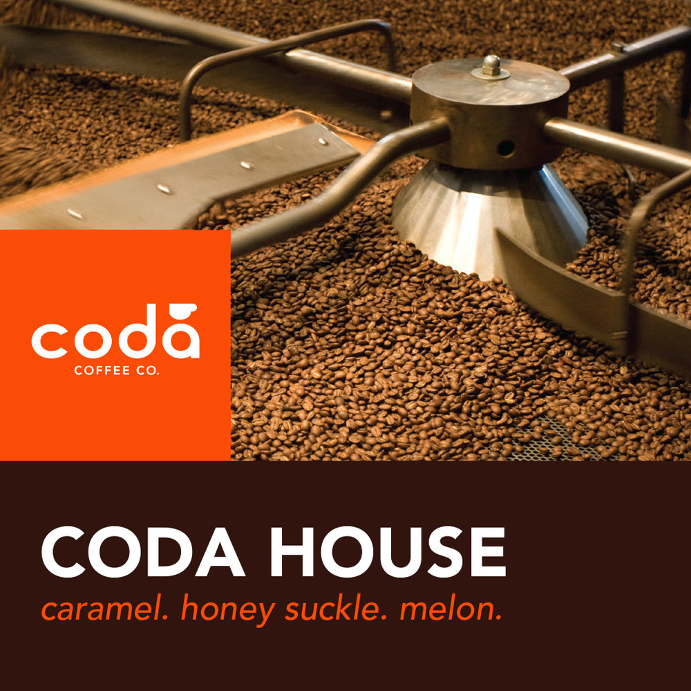 Coda Coffee Company Coda House Coffee Blend