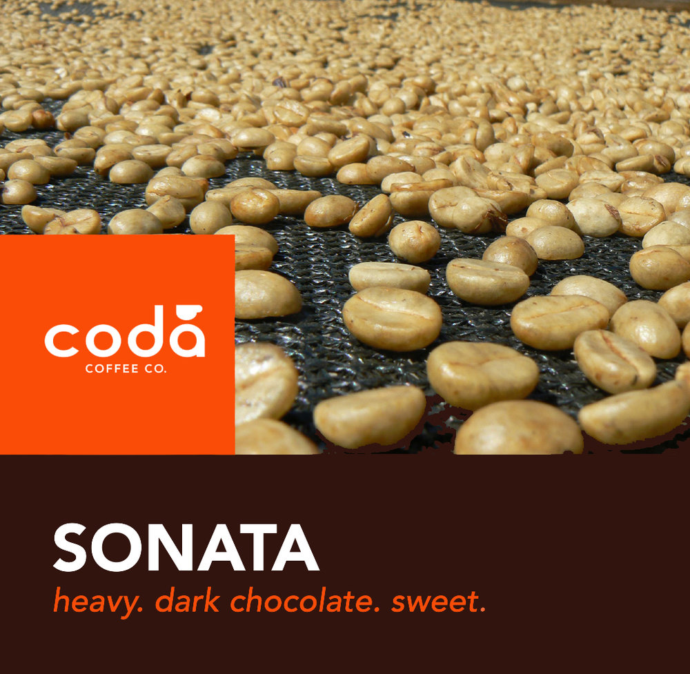 Coda Coffee Company Sonata Coffee Blend