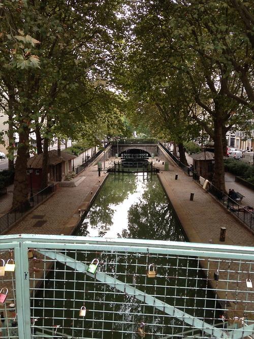 Canal St Martin, Paris France