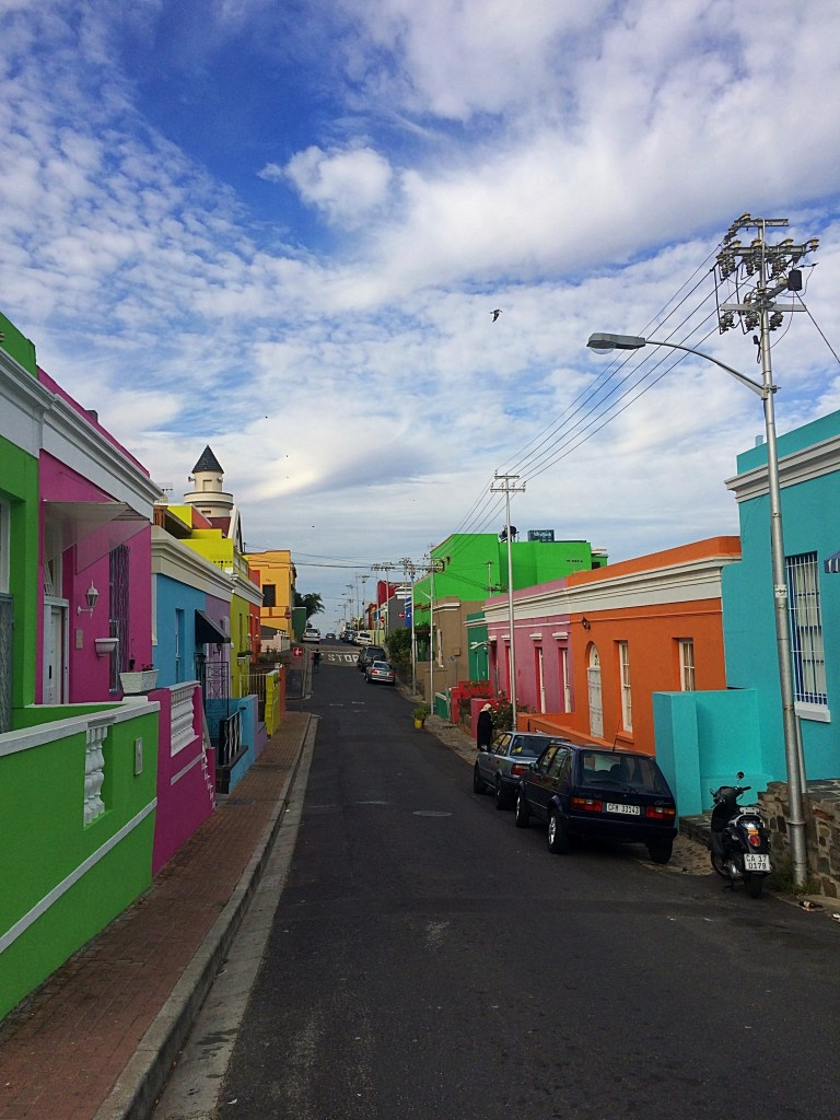 Colorful house in Bo-Kaap, Capetown, Western Cape