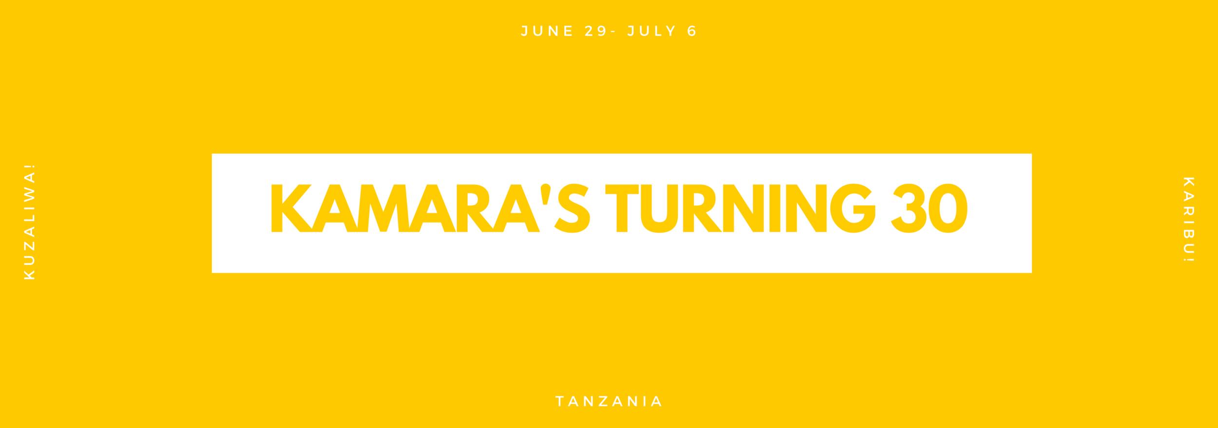 Kamara's 30th Birthday