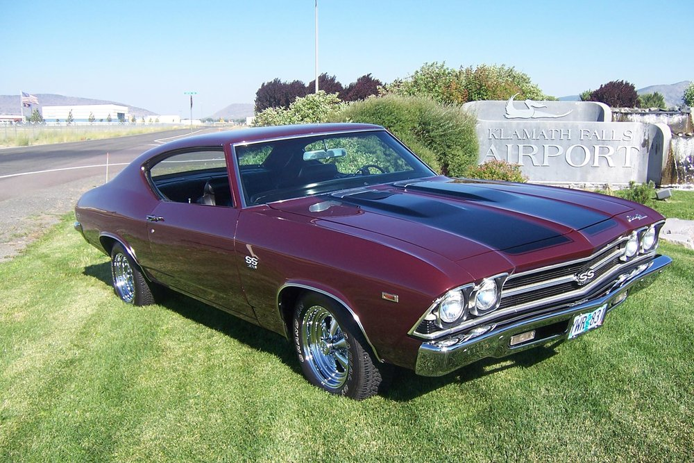 2008 People's Choice Terry Milne Klamath Falls, Oregon 1969 Chevrolet Chevelle
