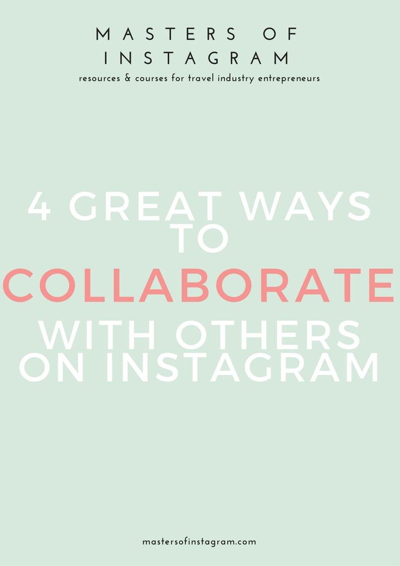 4 ways to collaborate on Instagram