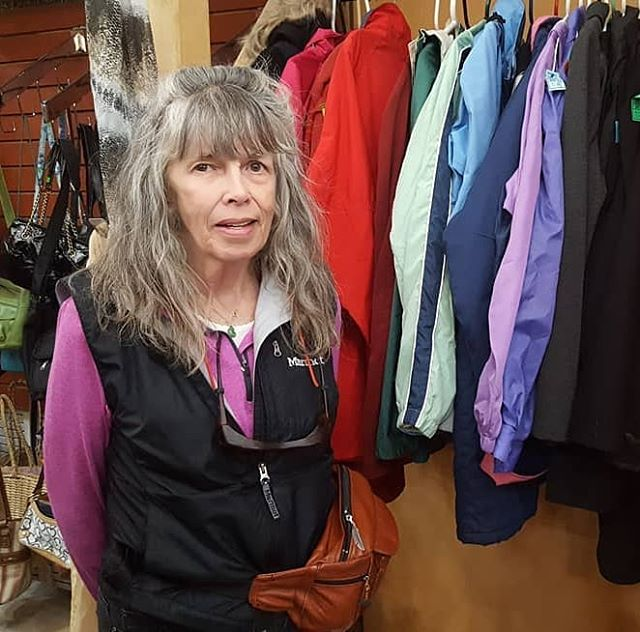 It's National Volunteer Week!!🥳 This year we want to dedicate the week to a dear volunteer and past employee of ours who recently passed away. Christine Calnan originally connected with us through Easterseals which then lead to a full-time job. After a few years she transitioned to a weekly volunteer, and over all gave 6.5 wonderful years of kindness and dedication to WabiSabi. We are so saddened by her passing, but we remember her fondly and encourage everyone to channel Christine's heart of service this week, and every week. Thank you Christine for all the joy and laughter you brought to Wabi. We miss you!!❤ We would also like to thank all of our other volunteers: those who sit on our board, and those who dedicate their time and efforts to help in the thrift store, and at special events. You all help keep our store running smoothly, and make it possible for us to put on Thanksgiving each year! The work that volunteers help us to accomplish as a nonprofit is invaluable, and we are so grateful for all of those individuals going the extra mile to help WabiSabi, and the Moab Community in general.  Thank You!! 🥰  #wabisabi #moab #nationalvolunteerweek #thankyou #volunteers #grateful