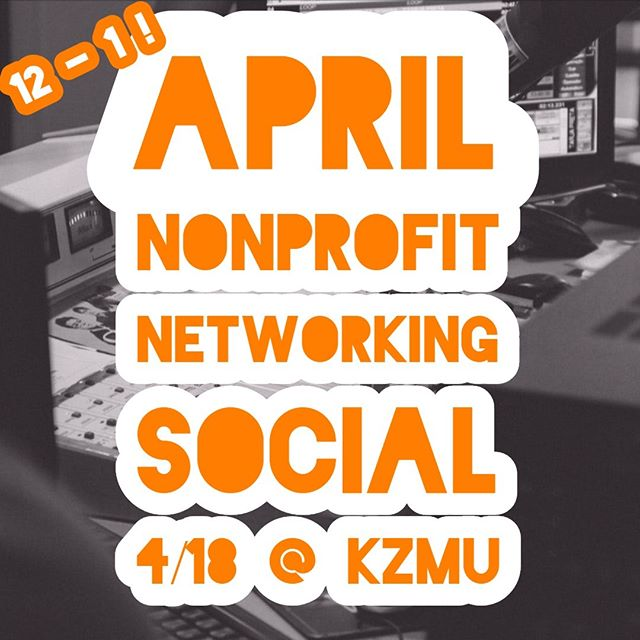 THIS Thursday is our April Nonprofit Networking Social!! Join us at @kzmu.moab from 12 - 1 this Thursday for organizational updates, snacks, and nonprofit fun! PLUS learn about how you can get air time for your organization during Radiothon!! #wabisabi #nonprofitnetworkingsUocial #nonprofits #moab #connect #kzmumoab