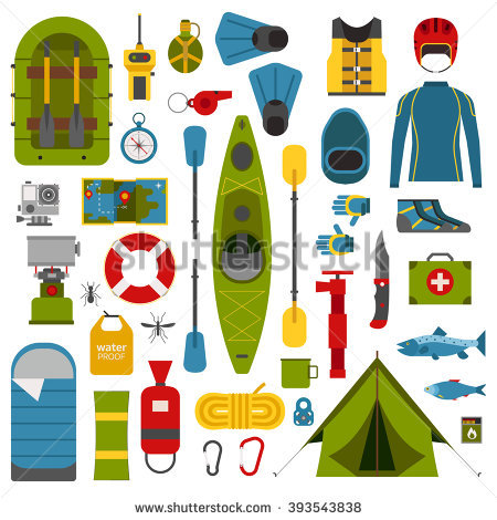 stock-vector-kayaking-icons-collection-river-camping-outdoor-elements-rafting-equipment-and-gear-collection-393543838.jpg