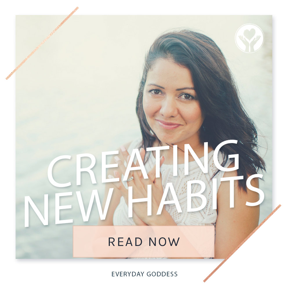 EVERYDAY GODDESS: PATTI WILLIAMS  What if our automatic behaviour no longer serves us?   What do we do if we want to create new habits that will nourish our bodies and in the process create a life that excites us?    READ MORE...