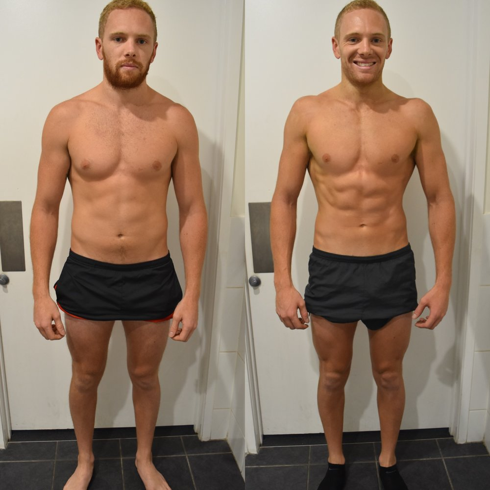 I have been training with Emil for a couple of years now and couldn't ask for a better personal trainer. I have put my trust in Emil to get me fit and ready for my last 2 AFL seasons and continue to get fitter and stronger after following his personalised programs. His experience and knowledge of the human body has really helped me build and strengthen the muscles I need to perform week in week out during the AFL season. I would highly recommend Emil to anyone  looking to improve at their selected sport - Mitch Bird.