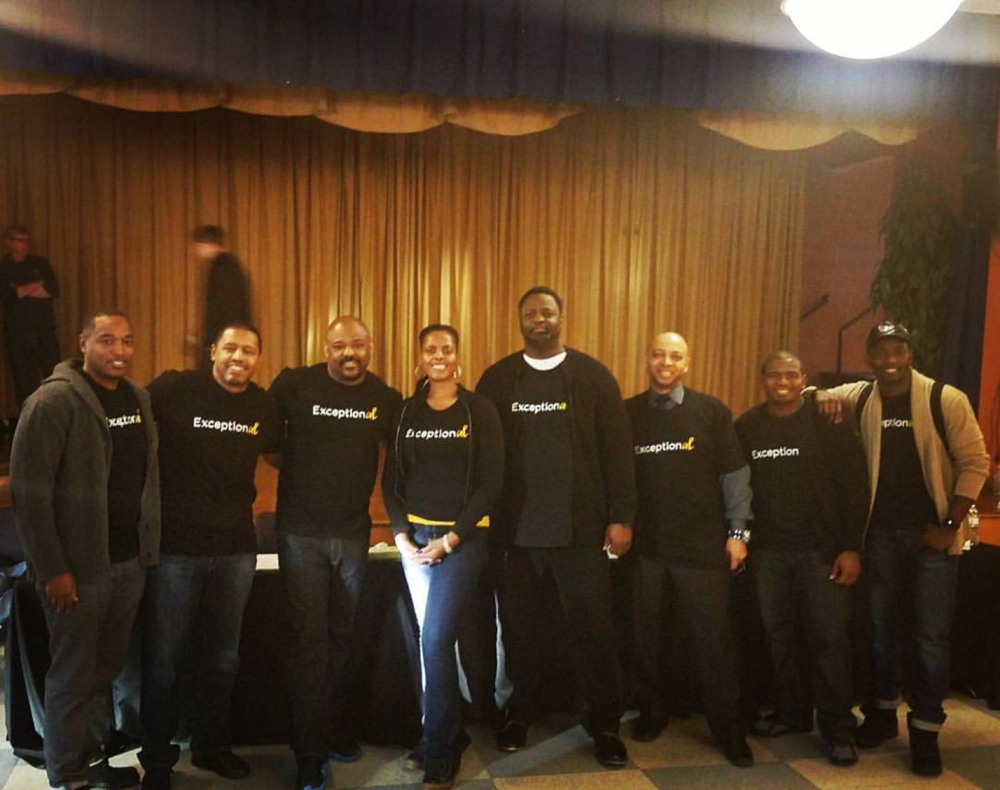 Men of The ExceptionAL Project after a Community Conversation as part of the  Launch of our 12 City Speaking Tour in Philadelphia