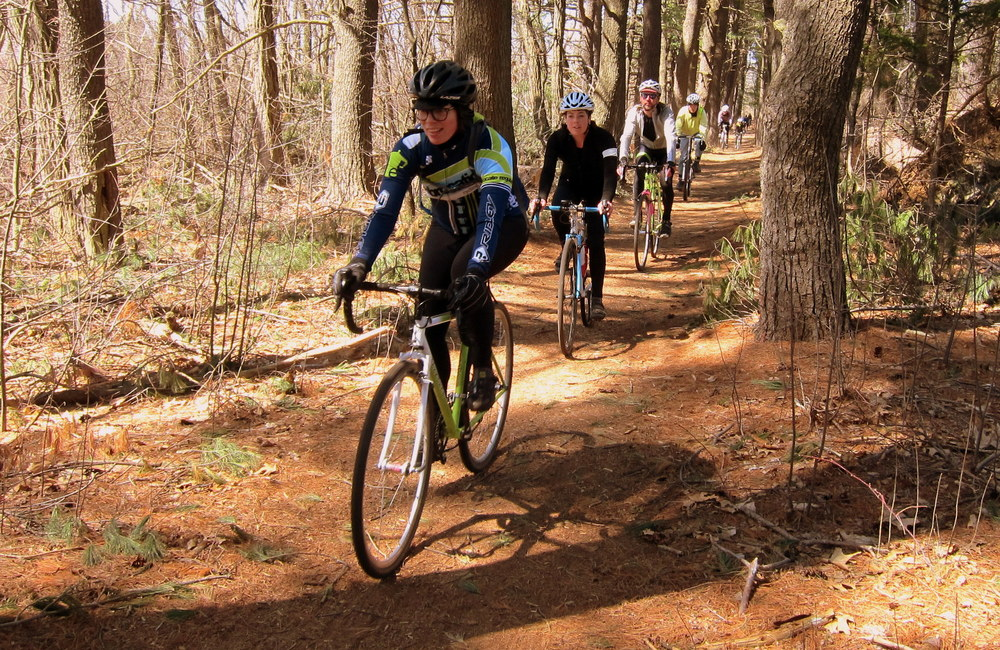 Diverged Ride in the Woods - photo - Rob Vandermark