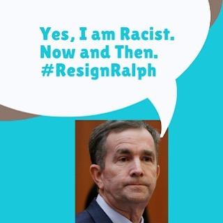 #ResignRalph digital action kicking off now! Join us in taking action to demand Ralph Northam resign as Governor of Virginia!  1️⃣Make a sign with the hashtag #ResignRalph 2️⃣Take a selfie or have someone take a picture of you with your sign 3️⃣Share it on social media with the hashtags #ResignRalph #WeAreAllUnionHill  Check out the guide below for more info, including the fight being led by Union Hill community members, and ways to support! (Link in bio) — ¡Acción digital #RalphRenuncia está empezando! ¡Únete en exigir que Ralph Northam resigne como gobernador de Virginia.  1️⃣Hacer un rótulo con el hashtag #ResignRalph 2️⃣Tomarte un selfie o que alguien te tome una foto con tu rotulo 3️⃣Compartirlo en las redes social con los hashtags #ResignRalph y #WeAreAllUnionHill ¡Mira la guía disponible debajo para más información, incluyendo sobre la lucha liderada por personas en la comunidad Unión Hill, y cómo apoyar! (Haga clic en nuestro perfil)