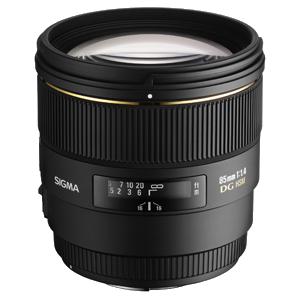 Sigma 85mm f/1.4