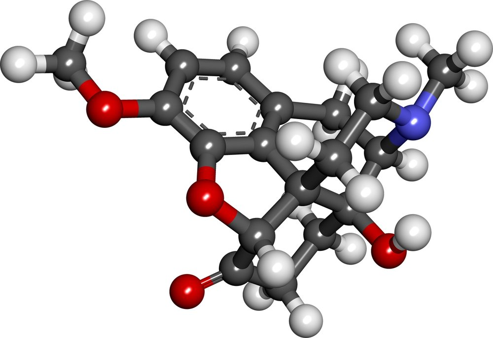Figure 3. The oxycodone molecule