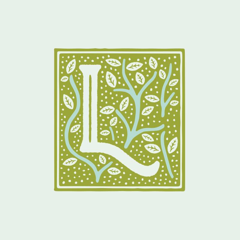 Leaves Book & Tea Shop - branding