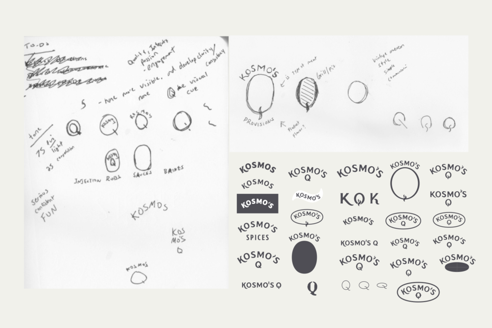 kosmosq_visual identity_sketches iterations.png