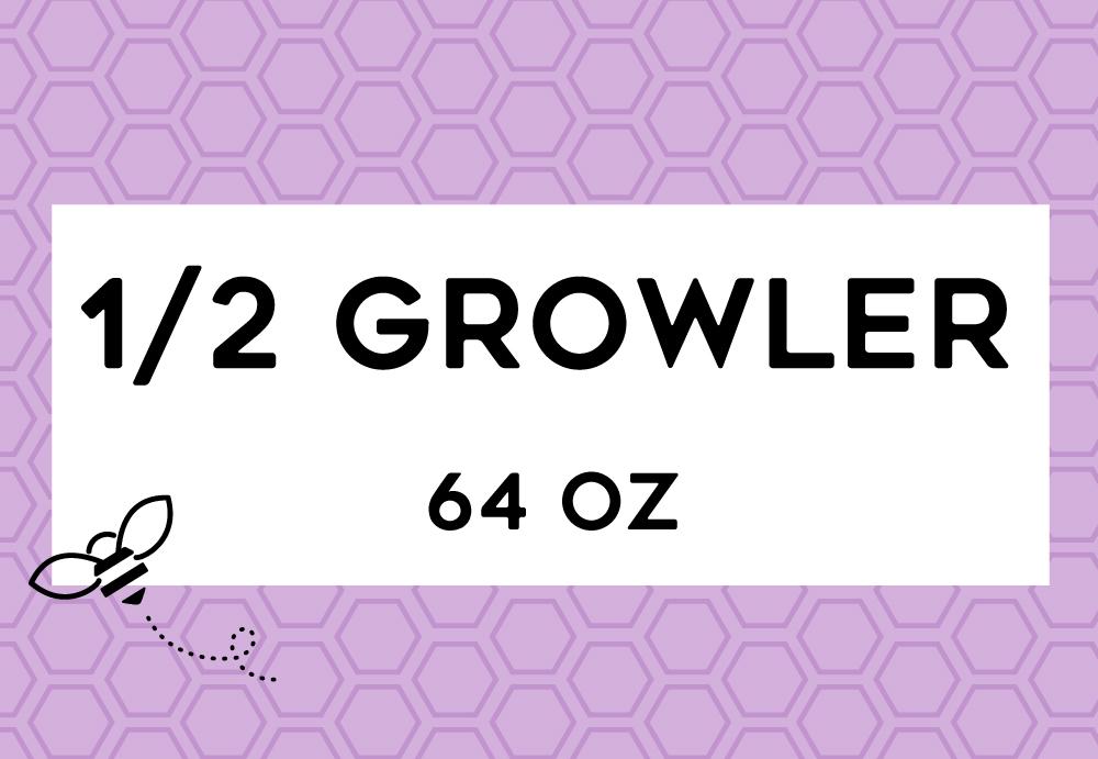 Green Bee Juicery - Half Growler