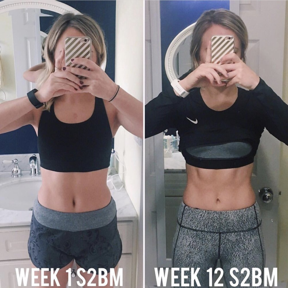 *my results from Paola's Strong & Sexy Body Method*