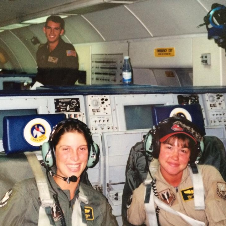 Sarah in the Air Force