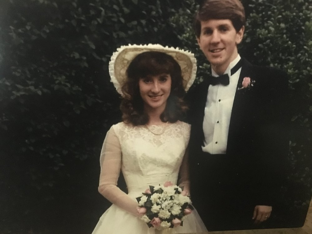 [ PHOTO ]Leslie and Mark's wedding (May 24, 1986)