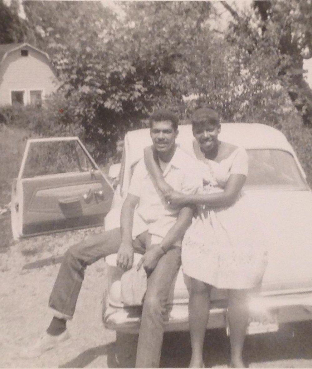 Lauren's Mimi & Granddaddy (old photo she loves)