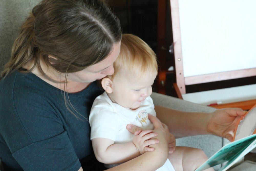 Hannah and Baby Melody