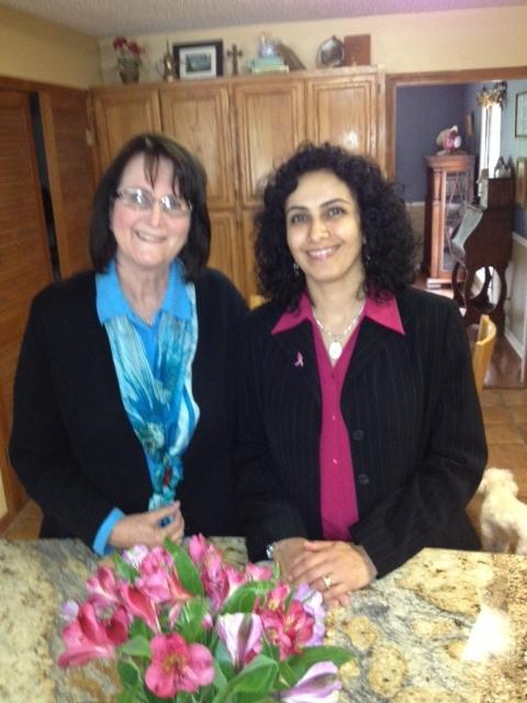Karen's mentee/friend from Egypt