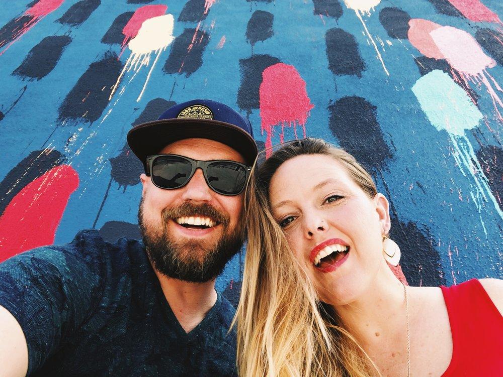 Jennifer and her husband Justin