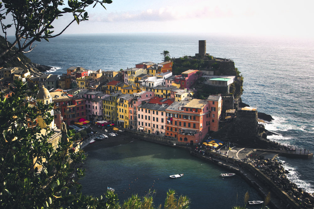 A shot taken on my very first DSLR (which was very rarely ever used), a Canon 1000D - Taken in 2014.   Location: Cinque Terre, Italy