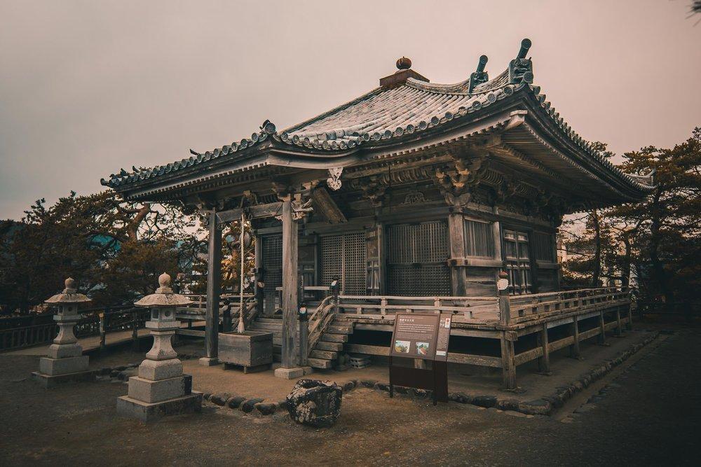 Godaido Temple, Matsushima