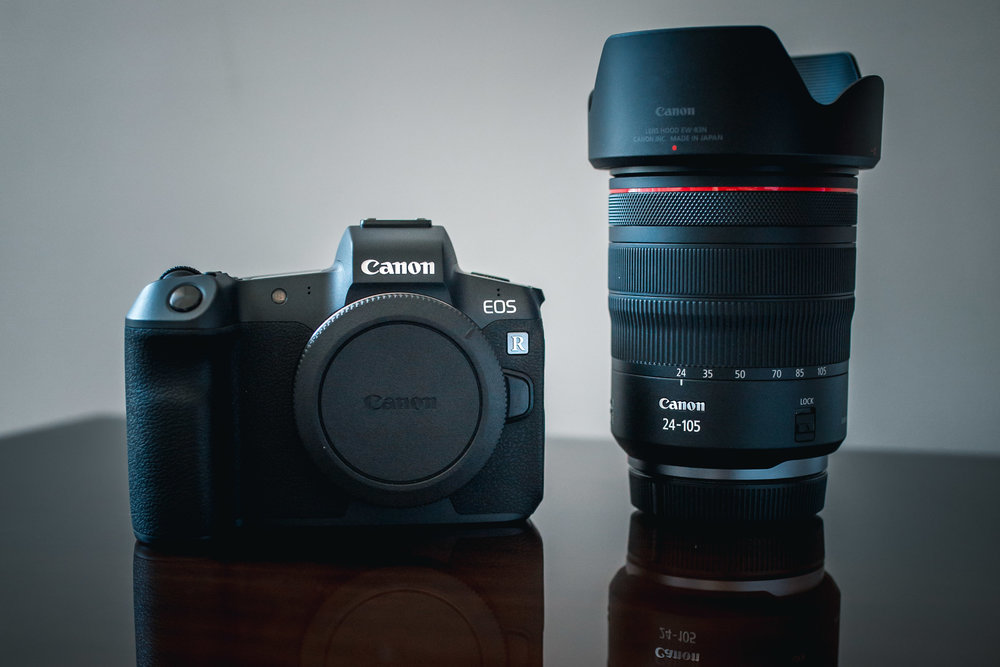 EOS R and kit RF 24-105mm f/4L IS USM