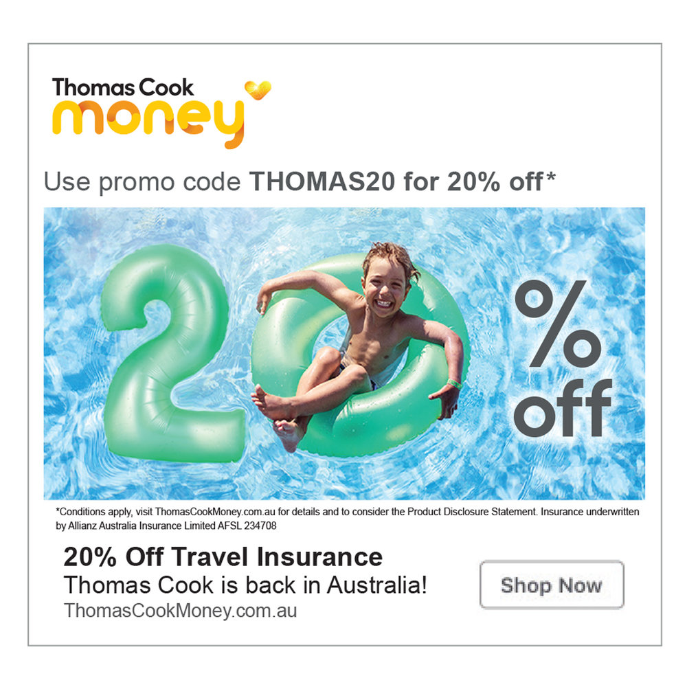Thomas Cook Promo ad (Sponge Agency)
