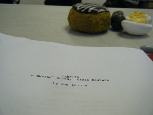 Goodspeed Festival of New Work Script (Joe Iconis)
